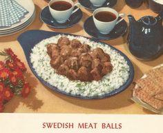 Meatballs - c. 1950