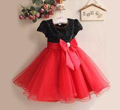 Wedding flower girl girls christmas dress for 3 4 5 6 7 8 years