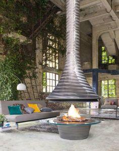 Eva 992 brut #by jcbordelet cheminee #fire #cheminee #jcbordelet #bordelet