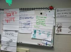 Weekly plans, strategies, and stories came from the Reading Street Series.  The first day we focused on vocabulary words.  Students worked in groups and use dictionaries to create a poster.  Each poster included the vocabulary word, the definition, and an example.   After the set time to complete the assignment, the students would present their poster.