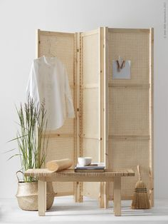 DIY folding screen -