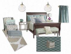 bedroom idea, mood board, master bedrooms, master mood