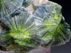 Wavellita mineral, crystal