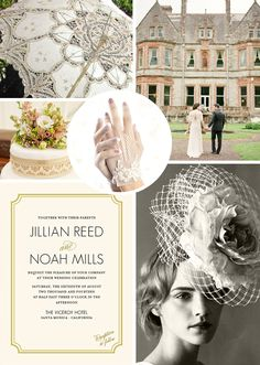 English Romance Wedding Inspiration