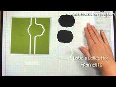 ▶ How to Make an Easy Swing / Flip Flop Card Using Stampin' Up!'s Thinlits - YouTube at I teach stamping by Meg Daves