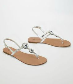 Comfortable and glamorous, the Lucia flip flop defines casual elegance! #davidsbridal Enter the Style My Maids Sweeps for a chance to win a 500 dollar David's Bridal gift card: http://sweeps.piqora.com/stylemymaids  Ends 4/29/13 Rules: http://sweeps.piqora.com/contests/contest/content/davidsbridal.com/178/rules