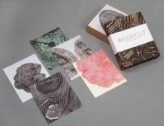 New Bryan Nash Gill's Woodcut Notecards