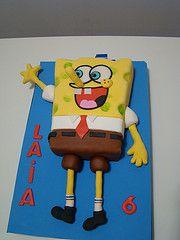 Bob esponja tarta