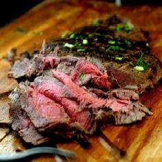 Asian Marinated Flank Steak by parsleynsage