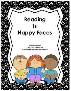 "FREE LANGUAGE ARTS LESSON - ""Reading Journals: Reading is Happy Faces"" - Go to The Best of Teacher Entrepreneurs for this and hundreds of free lessons.  PreKindergarten  #FreeLesson  #LanguageArts  http://www.thebestofteacherentrepreneurs.net/2014/10/free-language-arts-lesson-reading.html"