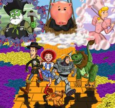 Toy Story in Wizard of Oz