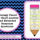 Strategy Pencil Poster for Short Answer and Extended Response Questions