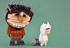 LEGO Where the wild things are