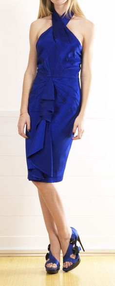 ZAC POSEN DRESS @Michelle Flynn Flynn Coleman-HERS