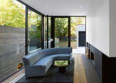 "Toronto house exterior designed ""to echo the rhythm of its neighbours"""