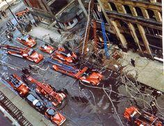 Chicago FD 1950s fire scene