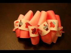 loopy tripple ribbon bow