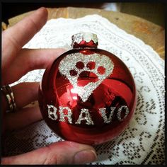 DIY Pet Ornament Set  #Christmas #holiday #pets #decorating