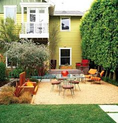 Small Space Dream Garden  Cool Firepit