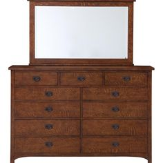 Grove Park Bureau by Bassett -- sale: $1,699 -- Mission/Craftsman/Prairie Style Bedroom Furniture