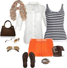 """""""To the beach"""" by civicdiva on Polyvore"""