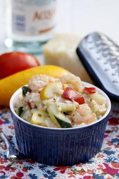 Garlic Shrimp Risotto