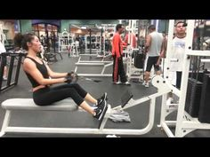 seated close grip cable row  All In One Training