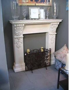 kamin on pinterest faux fireplace fake fireplace and fireplaces. Black Bedroom Furniture Sets. Home Design Ideas