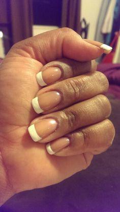 french manicures, blushing bride, blush bride