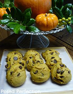 Posed Perfection: The Great Pumpkin Cookies This looks like the pumpkin cookie recipe I grew up on... I hope it is!