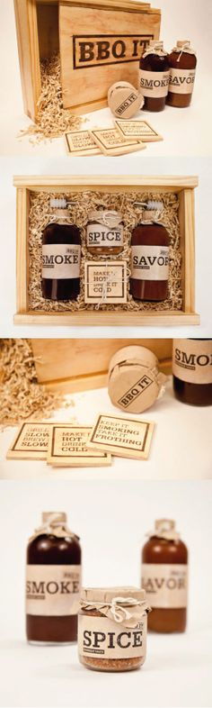 Unique Packaging Design on the Internet, BBQ IT #packaging #packagingdesign