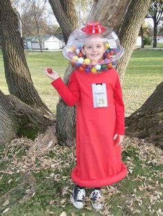 Gumball Machine Costume.