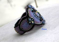 """Side view of """"The Opal"""" Cuff. :)"""