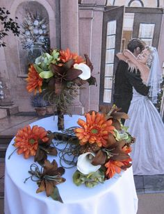 New Camouflage Bridal Bouquets, Camo Wedding Bouquets, Camo Bridal Flowers 13 Pc. $275.00, via Etsy.