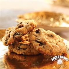 Coconut Raisin Treasure Cookies from Eagle Brand®