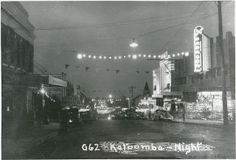 Katoomba - Night, 1938 !