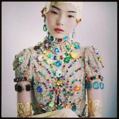 Jeweled top