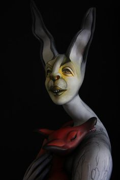 Figurative Art Doll~Olga Roehl