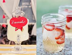 Infused lemonade = refreshing