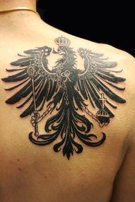 german eagle flag tatt...