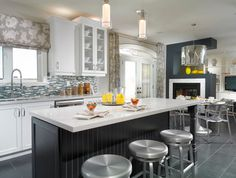 Estate Model Home, Brampton - contemporary - kitchen - toronto - My Design Studio