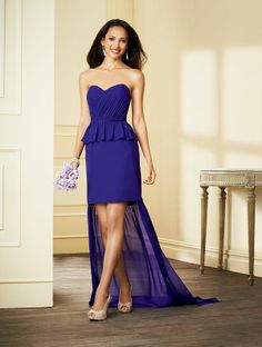 Alfred Angelo Short Bridesmaid Dress 7297S
