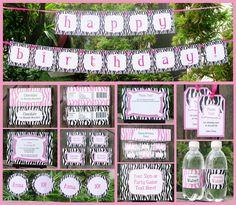 parti decor, birthday parties, sleepov parti, parti theme, parti collect, birthday party decorations, slumber parti