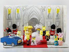 Royal Wedding made of Peeps