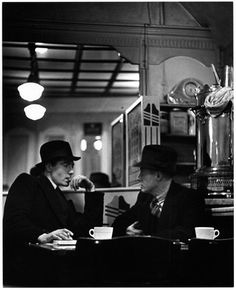 Charing Cross Cafe, Charing Cross Road, c 1935, Wolfgang Suschitzky