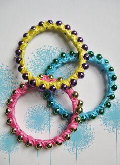 Mardi Gras Bead Bracelets