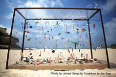 Aquarium of the Pacific Gyre....in your back yard! #art from #litter