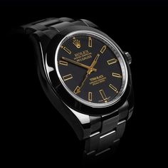 Milgauss Oro by Titan Black
