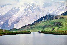 interlaken, swiss alps.