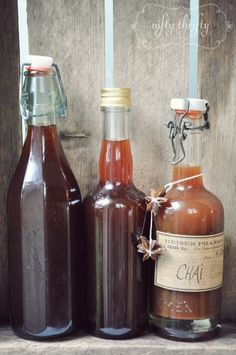 {homemade chai concentrate}
